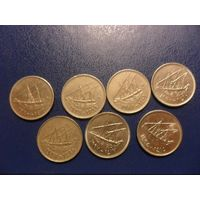 Кувейт  20 филсов - цена за монету