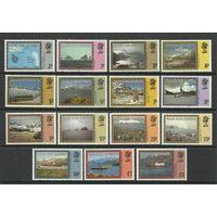 1980 Зависимые Фолклендские острова 78-92 Пейзаж 22,00евро