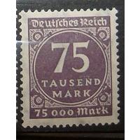Германия Рейх полная серия 1923