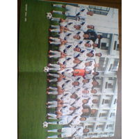 Постер--ФК Динамо Киев-2004