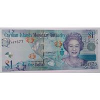 Каймановы острова 1 доллар 2018 года UNC