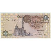Египет, 1 фунт 2008 год.