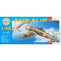 Самолёт Macchi M.C. 200 Saetta, сборная модель 1/48 Smer 0820