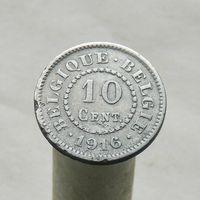 Бельгия 10 сантимов 1916