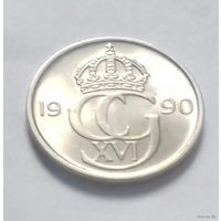 50 эре, Швеция 1990 г.