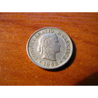 5 раппен швейцария 1953