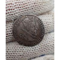 Польша , 6 грошей M 1600 год Сигизмунд 3