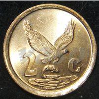 6637:  2 цента 1998 ЮАР