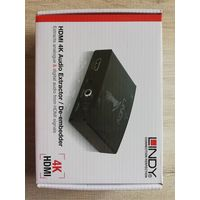 HDMI 4K Audio Extractor De-Embedder