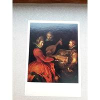 Открытка Голландская живопись  М Пепейн