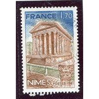 Франция. Древний храм Месон Карре в Ниме