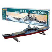 Модель сборная Военный корабль USS Missouri 1/535,РЕВЕЛ