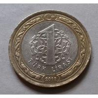 1 лира, Турция 2012 г.