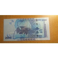 2000 шиллингов Уганда 2019 UNC
