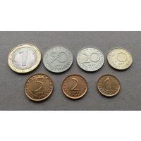Лот монет Болгарии 1999-2002 гг., 7 шт.