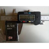 Аккумуляторная батарея Nokia BL-5CB 3.7v