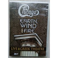 DVD. Chicago & Earth.Wind & Fire. Live At The Greek Theatre. 2in 1