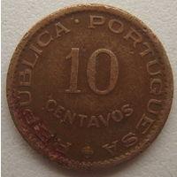Сан-Томе и Принсипи 10 сентаво 1962 г.