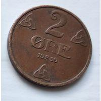 Норвегия 2 эре, 1939  4-11-7