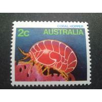 Австралия 1984 морская фауна