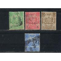 GB Протекторат Занзибар 1904 Герб Монограмма Султана Али ибн Хамид Герб Стандарт #73-6
