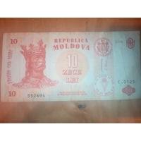 Молдова 10 лей 2006