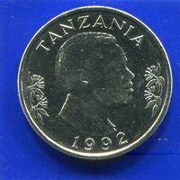 Танзания 1 шиллинг 1992 UNC