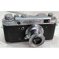 Фотоаппарат ФЭД-2 1955 г. с объективом Индустар-10 (ФЭД) после полного сервиса
