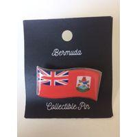 Значок Бермудские острова (на иголке), лак на металле