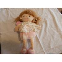 Лоскутная/ тряпичная кукла Belle Rose