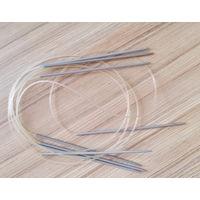 Спицы для вязания, новые-6шт
