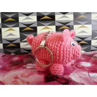Брелок Свинка Поросёнок Подарок День рождения Св.Валентина Новый год