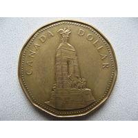 Канада 1 доллар 1994 г. Национальный мемориал (юбилейная)