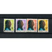 Чад - 1990 - Национальные прически - [Mi. 1192-1195] - полная серия - 4 марки. Гашеные.