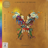 Coldplay A Head Full Of Dreams/Live In Buenos Aires/Live In Sao Paulo LP+DVD