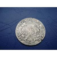 6 грошей (шостак) 1757         (2832)