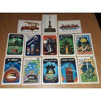 Календарики 1985 Противопожарная Агитация 13 шт. одним лотом