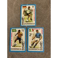 Доминика 1974. Чемпионат мира по футболу Мюнхен-74