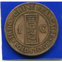 Французский Индокитай 1 цент 1892