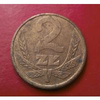 2 злотых 1980 Польша #03