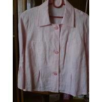 Пиджак лен.52-56