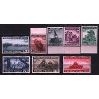1941 Польша Вторая мировая война Правительство в изгнании 8х-марок**