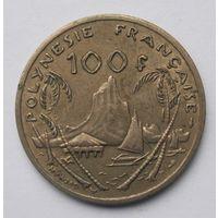 Французская Полинезия 100 франков 1982