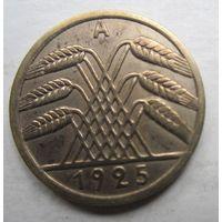 Германия. 5 рейхспфеннигов 1925 A 51