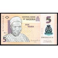 Нигерия / NIGERIA_2011_5 Naira_P#   _UNC