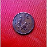 89-07 ЮАР, 1 цент 1970 г.