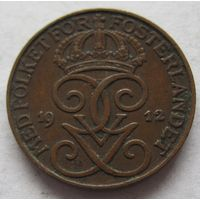 Швеция 1 эре 1912
