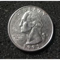 США, 25 центов 1995 P