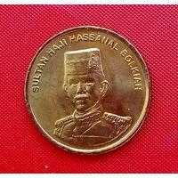37-08 Бруней, 1 сен 2008 г. Единственное предложение монеты данного года на АУ