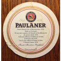 Подставка под пиво Paulaner No 23